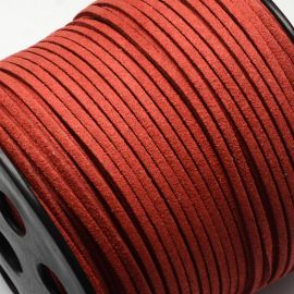 Zomšinė juostelė skirta rankdarbiams, suvenyrams papuošalams gaminti. Raudonos spalvos, kaina - 0,25 Eur už 1 metras
