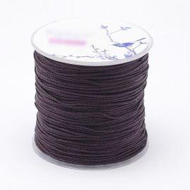 Nailoninis siūlas skirta rankdarbiams, suvenyrams papuošalams gaminti. Rudos spalvos, kaina - 0,54 Eur už 5 metrai