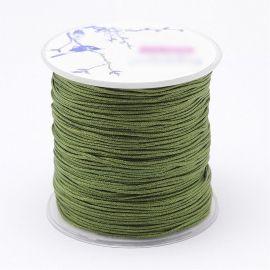 Nailoninis siūlas skirta rankdarbiams, suvenyrams papuošalams gaminti. Šviesiai žalios spalvos, kaina - 0,54 Eur už 5 metrai