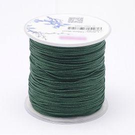 Nailoninis siūlas skirta rankdarbiams, suvenyrams papuošalams gaminti. Žalios spalvos, kaina - 0,54 Eur už 5 metrai
