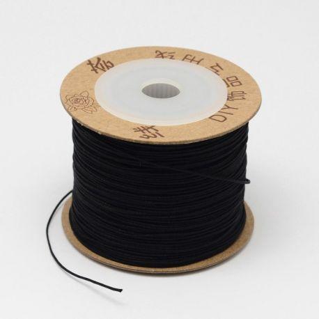 Nailoninis siūlas, juodos spalvos 0 mm, 5 metrai