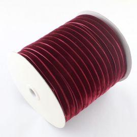 Vienpusė velvetinė ribbon 9.5 mm., 1 meter