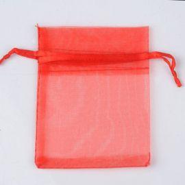 Organzos maišelis skirtas supakuoti suvenyrams papuošalams, smulkmenoms. Raudonos spalvos, kaina - 0,12 Eur už 1 vnt.