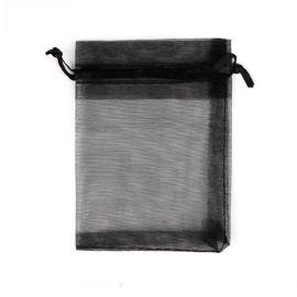 Organzos maišelis skirtas supakuoti suvenyrams papuošalams, smulkmenoms. Juodos spalvos, kaina - 0,12 Eur už 1 vnt.