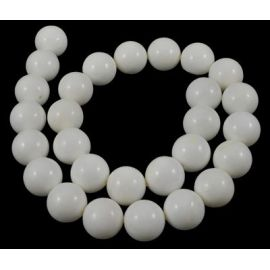 Natural SHELL Pearls beads 10 mm, 1 strand