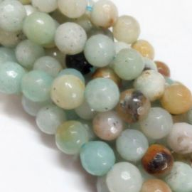 Natural Amazonite beads 10 mm, 1 strand