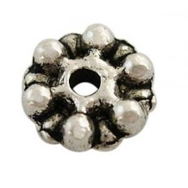 Bead spacer 7x2 mm, 1 bag