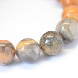 Natural Agate beads 8 mm., 1 strand
