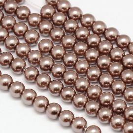 Glass pearls AA grade 10 mm., 1 strand