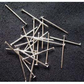 Metaliniai head pins 20x0,7 mm., apie 100 pc.