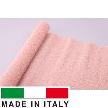 17A4 Cartotecnica Rossi gofruotas floristinis krepinis popierius, skirtas rankdarbiams, įpakavimams. Gelsvos spalvos, kaina - 1,