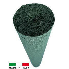 612 Cartotecnica Rossi gofruotas floristinis krepinis popierius, skirtas rankdarbiams, įpakavimams. Žalsvos spalvos, kaina - 1,