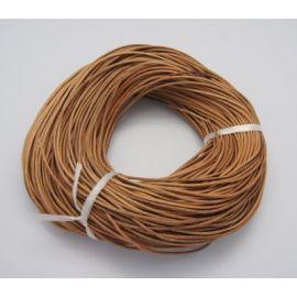Natūralios odos virvutė, 1.00 mm., 1 m.