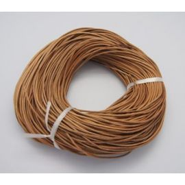 Natūralios leather cord, 1 mm., 1 m.