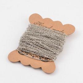 Grandinėlė naudojama rankdarbiams, suvenyrams gaminti, dekoruoti, 10 mm dydžio, 1 gija