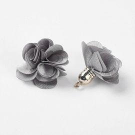 Elementas naudojamas dekoruoti, gaminiti papuošlus, randarbius, elementus aksesuarams, 25-30x28 mm dydžio, 2 vnt., 1 maišelis. K