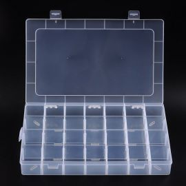 Plastikinė dėžutė karoliukams 350x220x50 mm, 1 vnt.