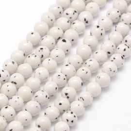 Natural Bodhi beads, 12 mm., 1 strand