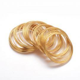 Viela su atmintim apyrankei, 0.60 mm., ~10 žiedų 1 maišelis
