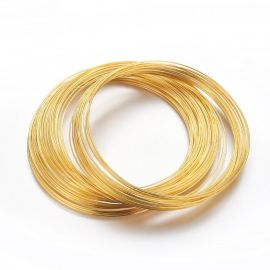 Jewelry memory wire for the necklace, 1.00 mm., ~10 Rings 1 bag