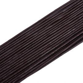 Natūralios odos virvutė, 1.50 mm., ritėje ~10 metrų 1 ritė