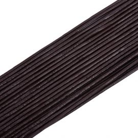Natūralios leather cord, 1.50 mm., In a spool ~10 meters 1 spool