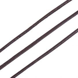 Natūralios leather cord, 1.50 mm., In a spool ~10 meters 1 spool