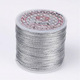 Metalizuotas thread, 0.80 mm., ~100 meters 1 spool