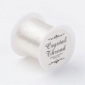 Tvirta elastinė gumutė, 0.80 mm., In a spool ~100 meters 1 spool