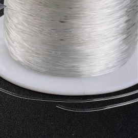 Tvirta elastinė gumutė, 0.70 mm., ritėje ~100 metrų 1 ritė