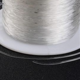 Tvirta elastinė gumutė, 0.60 mm., In a spool ~100 meters 1 spool