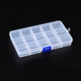 Plastic box for beads 180x100 mm, 1 pc.