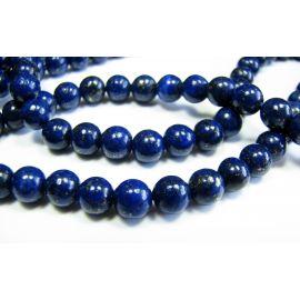 Lapis Lazuli karoliukų gija 6 mm A klasės