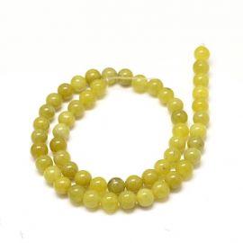 Peridoto beads, 4 mm
