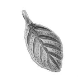 "Pendant ""leaf"", 18x8x1 mm 4 pc."