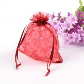 Organza bags, 12x10 cm, 5 pc., 1 package