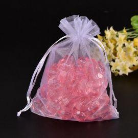 Organza bags, 18x13 cm, 5 pc., 1 package