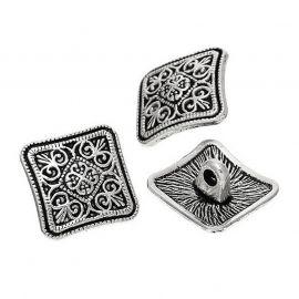 Metalinė saga, 13x6,6 mm, 2 vnt., 1 maišelis