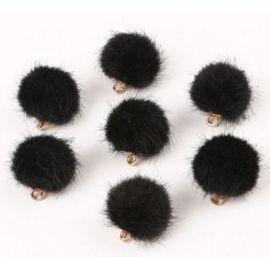 Kailiniai bumbuliukai, 18x16 mm, 2 vnt., 1 maišelis