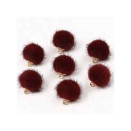 Kailiniai beads, 18x16 mm, 2 pc., 1 bag