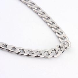 Nerūdijančio plieno 316 Chain with Clasp karabinu, 3 mm, 1 pc