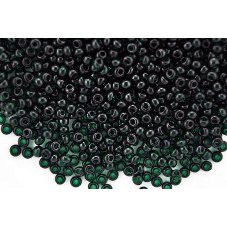 Preciosa biseris (50180-9) tamsios žalios emeraldo spalvos 50 g