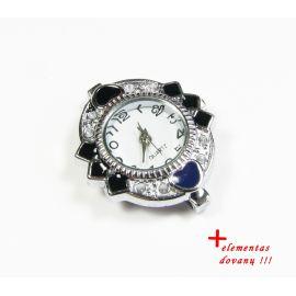 Laikrodukas su elementu 31x26 mm