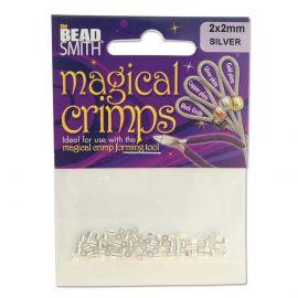 "Pasidabruoti spaustukai ""Magical"" 2x2 mm ~100 vnt. 1 maišelis"