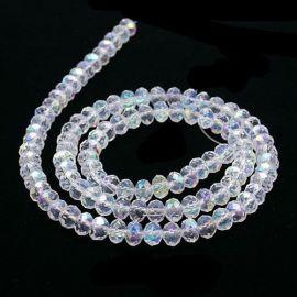 Stikliniai beads 3x2 mm 1 strand