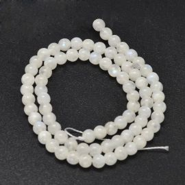 Natural Moon stone beads 5-5,5 mm 1 strand