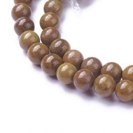 Natural Jaspio beads 4 mm 1 thread