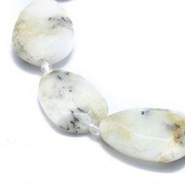 Natūralus Opal Dendritas 29-32x19-23x6-8 mm