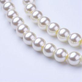 Stikliniai beads - perliukai 10 mm 1 strand