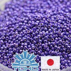 TOHO® Biseris Permafinish - Galvanized Violet TR-11-PF581 11/0 (2,2 mm) 10 g.